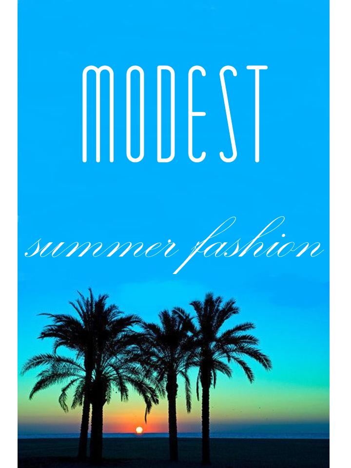 modest summer fashion